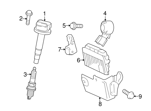 Toyota Prius Spark Plug, Toyota, Free Engine Image For