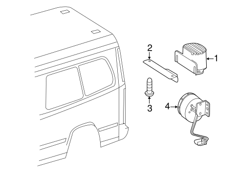 Electrical Components for 2011 Mercedes-Benz Sprinter 2500