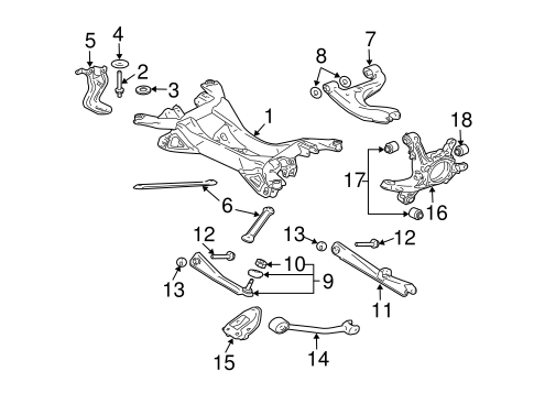 2006 Subaru Rear Suspension Diagram Html