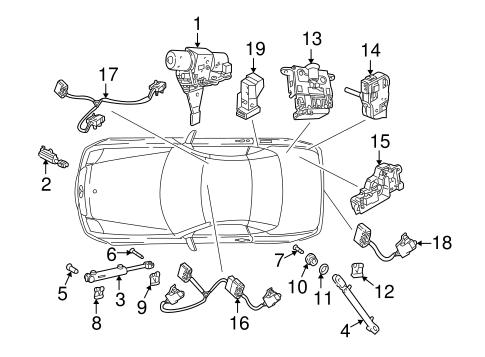 Motor & Components for 1999 Mercedes-Benz SLK 230