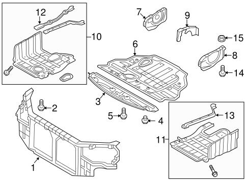 Radiator Support for 2011 Hyundai Sonata