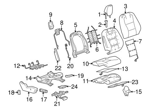 POWER SEATS for 2010 Chevrolet Camaro