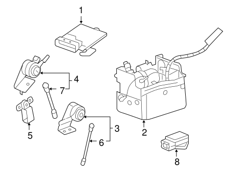 Front Sensor for 2007 Cadillac Escalade|15098629 : GM