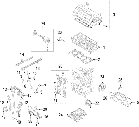 2009 Mazda Tribute Engine Diagram