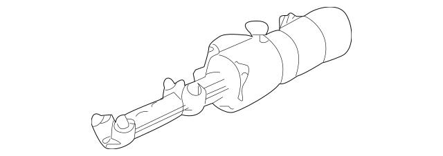2008-2011 Mercedes-Benz Actuator Pump 204-860-03-47