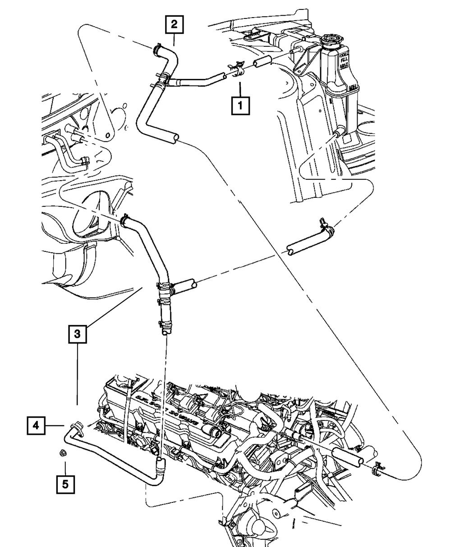 Plumbing - Heater - 2003 Dodge Ram 1500