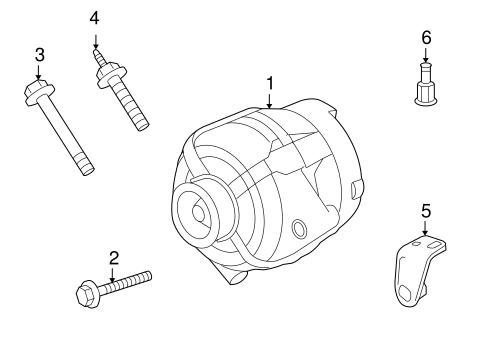 Alternator for 2011 Chevrolet Impala|20911162 : GM Parts