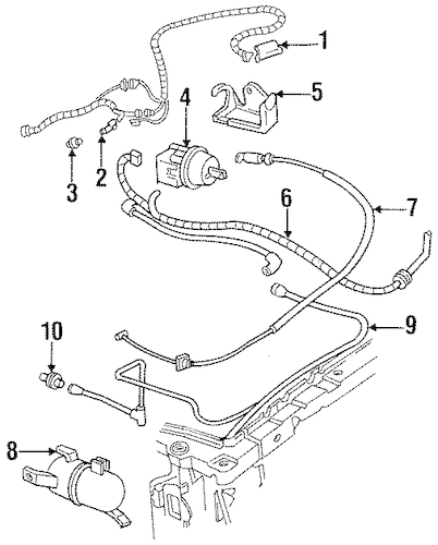 OEM CRUISE CONTROL SYSTEM for 1996 Chevrolet Corsica