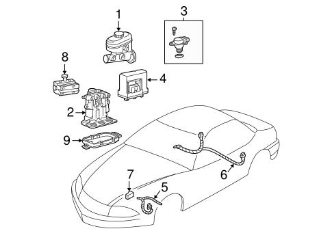 OEM 1999 Chevrolet Malibu Hydraulic System Parts