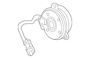 2014-2017 Acura RLX SEDAN Motor, Cooling Fan (Denso) 38616