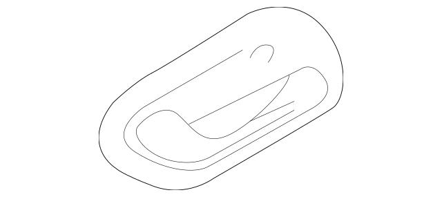1999-2004 Chevrolet Tracker Handle, Inside 30024125