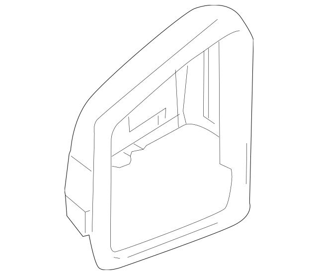 2013-2015 Mercedes-Benz Housing Cover 212-810-09-64-7986