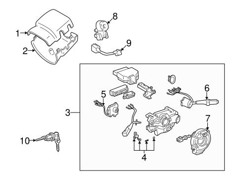 Genuine OEM Ignition Lock Parts for 1996 Toyota Tacoma SR5