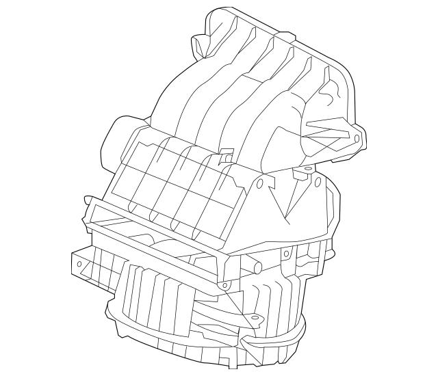 2012-2016 Honda CR-V 5-DOOR Blower Sub-Assembly 79305-T0G