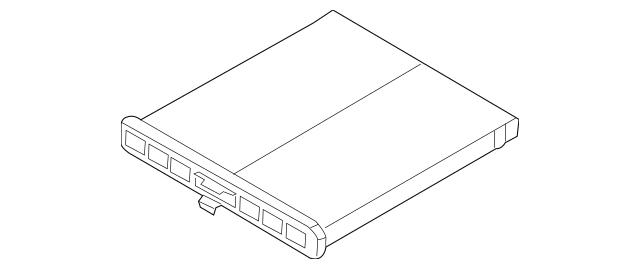 Genuine OEM Cabin Air Filter Part# KD45-61-J6X Fits 2013