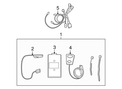 Communication System Components for 2014 Ford E-250