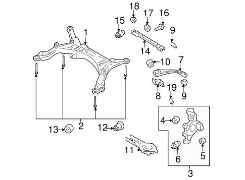 Rear Suspension for 2005 Mercury Montego