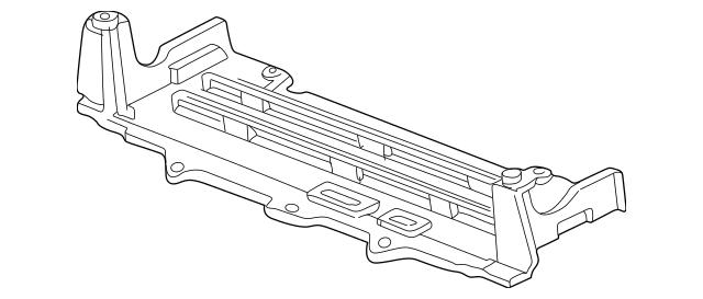 2000-2009 Honda S2000 COUPE Shield, Front Splash 74111-S2A