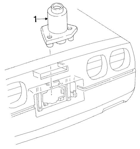 LICENSE LAMPS for 1986 Chevrolet Corvette