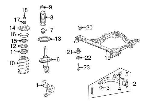 Suspension Components for 2006 Pontiac Montana