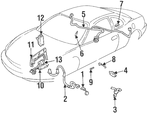 OEM ABS Components for 1997 Oldsmobile Aurora