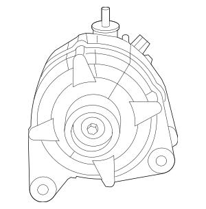 2009-2010 Volkswagen Routan Alternator 7B0-903-015-A