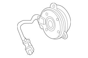 2014 Acura RLX SEDAN Motor, Cooling Fan (Denso) 19030-R9P