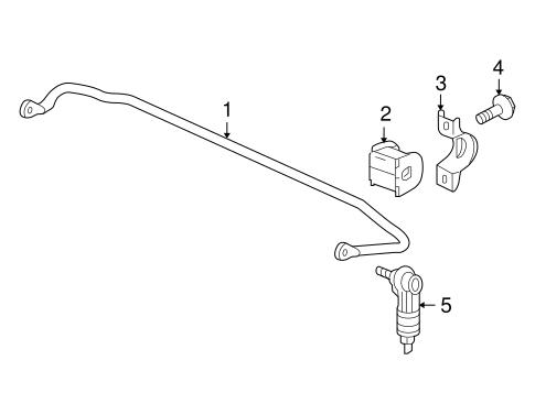 Stabilizer Bar & Components for 2008 Pontiac Torrent