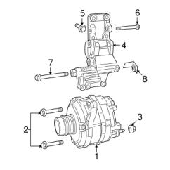 2007 Dodge Caliber Alternator Wiring Diagram 72 Super Beetle For Quickparts Electrical Genuine Oem Parts 2