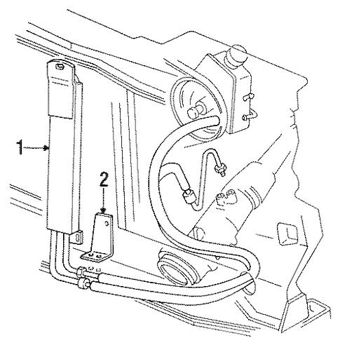 26041420 Power Steering Cooler for 1999 Chevrolet Suburban