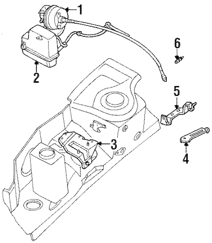 Cruise Control System for 2002 Mercury Villager