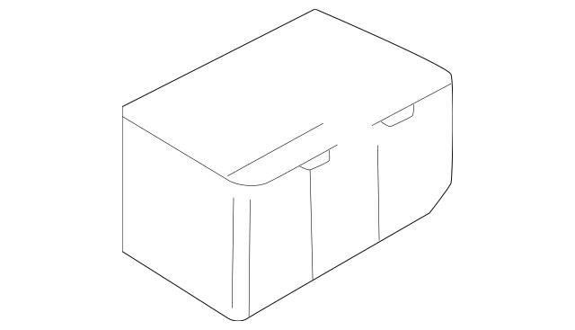 1999-2005 Mazda Miata Fuse Box Main Lower Cover NC10-66