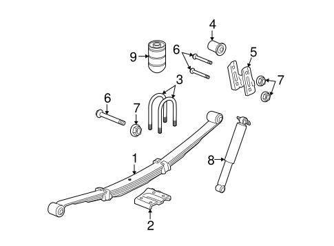 REAR SUSPENSION Parts for 2007 Hummer H3