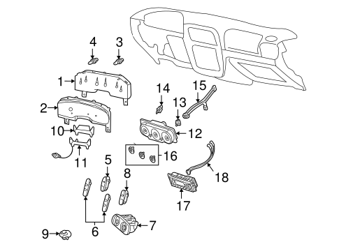 CONTROLS for 2005 Ford Explorer