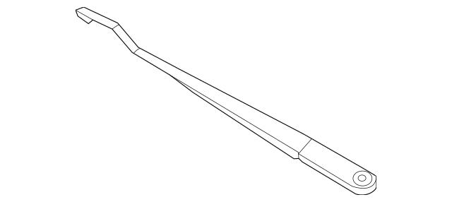 Genuine 2012-2015 Honda Arm, Windshield Wiper (Driver Side