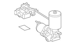 2008-2010 Toyota Highlander Pump Assembly 47070-48020