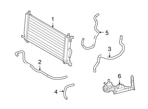 Genuine OEM Inverter Cooling Components Parts for 2006