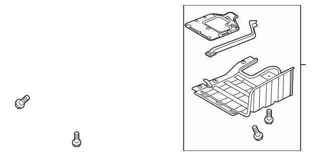 Genuine OEM Side Shield Part# 29130-2T100 Fits 2011-2012