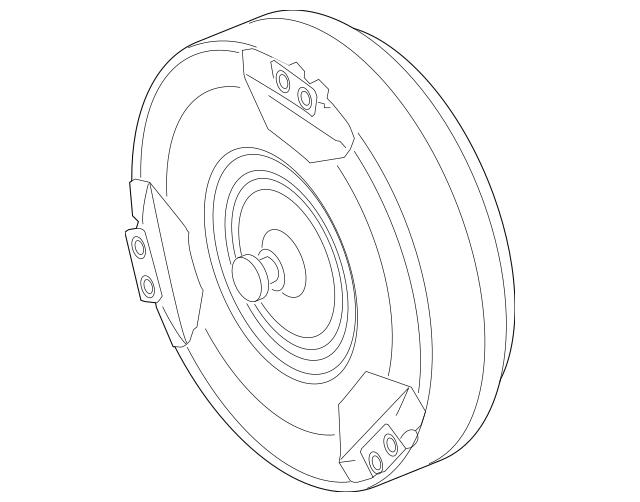 2008-2010 Porsche Cayenne Converter 955-316-001-52
