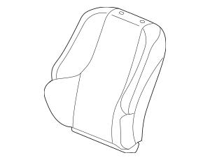 Genuine 2012-2013 Honda FIT 5-DOOR Cover Set, L Trim