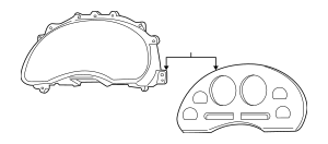 Genuine OEM 1999-2004 Ford Mustang Cover XR3Z-10890-AA