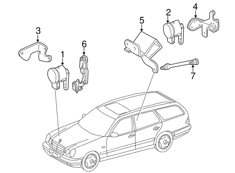 Electrical Components for 2003 Mercedes-Benz E 320