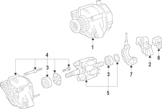 1999 Toyota Camry Alternator Wiring Diagram