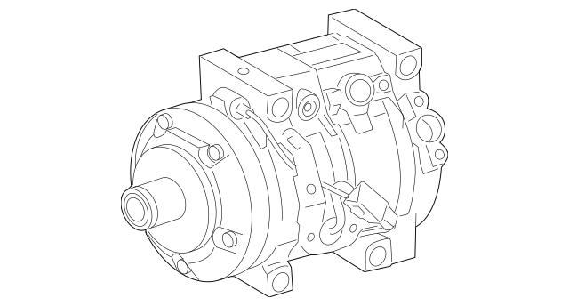 2008-2018 Toyota Land Cruiser Compressor 88320-6A320