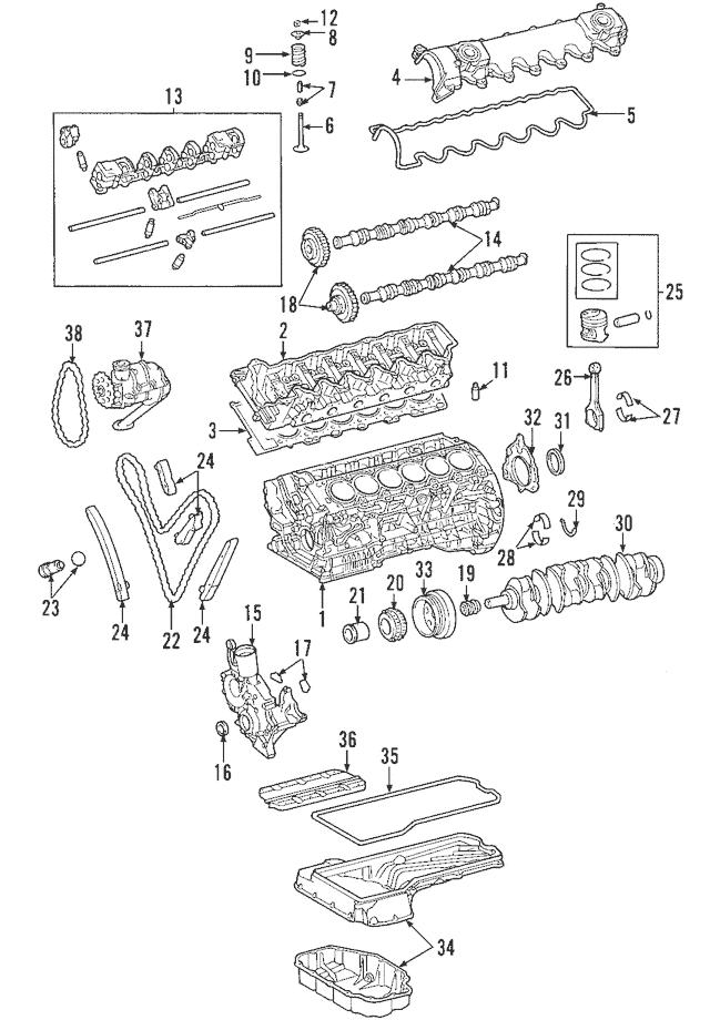 2003-2018 Mercedes-Benz Idler Gear Bearing 113-052-00-05