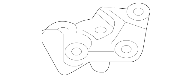 2007-2013 Nissan Altima Insulator Mount Bracket 11232