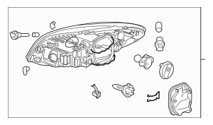 Buy this Genuine 2010-2013 Volvo C70 Headlamp Assembly