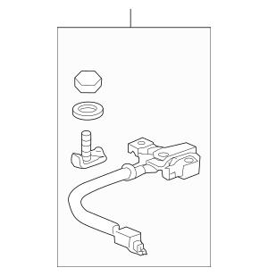 2012-2013 Honda ODYSSEY 5-DOOR Sensor Assembly, Battery