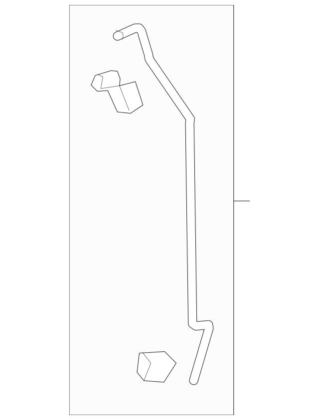 Genuine 2016 Honda PILOT 5-DOOR Rod Set, R Rear Door Latch