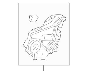Honda Latch Assembly, L Rear Door Power (72650-T5R-A31